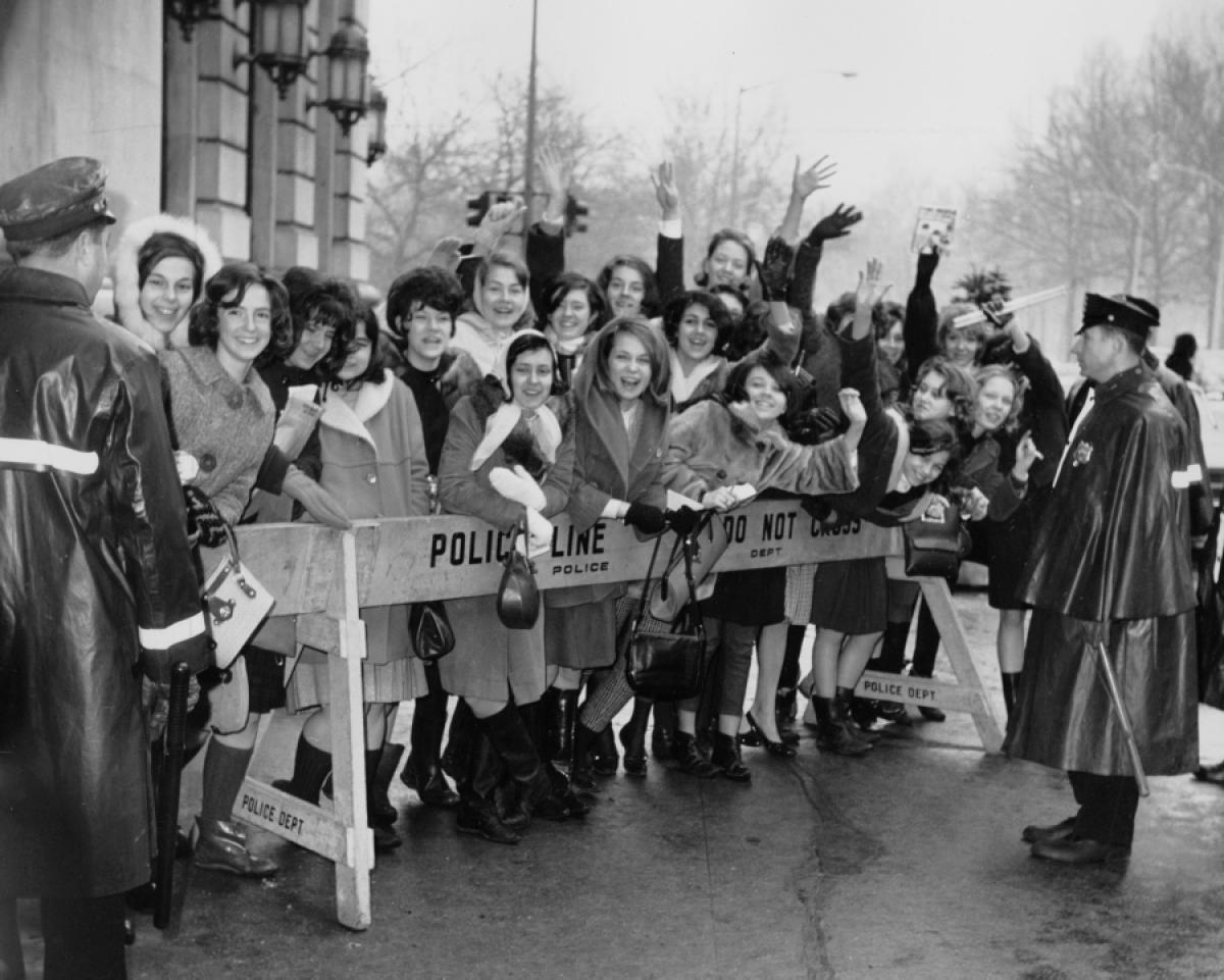 the impact of the beatlemania in society Released when beatlemania was at its peak, the film was a huge hit and well received by critics  the evidence of that impact can be found in current musical .