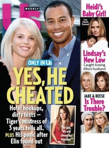 In this magazine cover image released by US Weekly Magazine, the Dec. 14, 2009 issue of