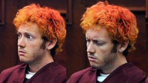 """CENTENNIAL, CO - JULY 23:  Accused movie theater shooter James Holmes makes his first court appearance at the Arapahoe County on July 23, 2012 in Centennial, Colorado. According to police, Holmes killed 12 people and injured 58 others during a shooting rampage at an opening night screening of """"The Dark Knight Rises"""" July 20, in Aurora, Colorado.  (Photo by RJ Sangosti-Pool/Getty Images)"""