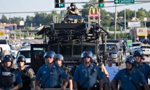 Missouri riot police