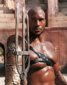HENRY SIMMONS in Spartacus *Editorial Use Only* Ref: FB www.capitalpictures.com sales@capitalpictures.com Supplied by Capital Pictures