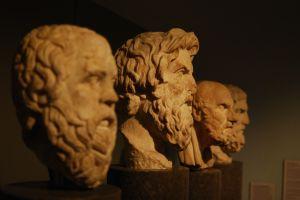 Sokrates, Antisthenes, Chrysippos, Epikouros