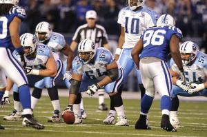 Tennessee Titans vs. Indianapolis Colts at Lucas Oil Stadium in Indianapolis, IN on December 28, 2008.